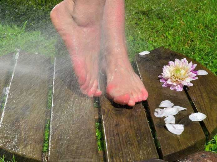 Kneipp hydrotherapy for fungal prevention